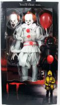 """It - Pennywise the Clown - 6\"""" clothed retro figure - NECA"""