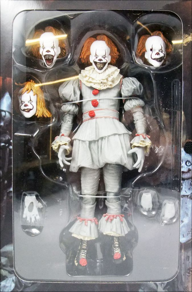 "It The Movie (2017) - Pennywise the Clown ""Ultimate Well House\"" - Neca"