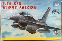 Italeri - N°188 Fighter Plane F-16 C/D Night Falcon 1:72 Mint in Box