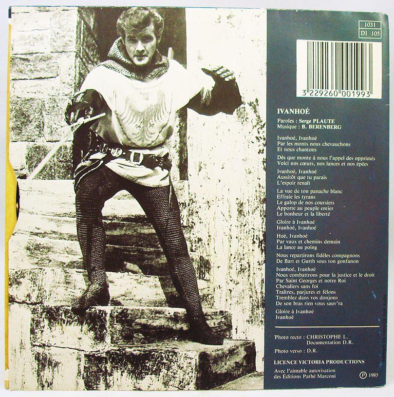 Ivanhoé - Disque 45Tours - Chanson du feuilleton TV - Disc\'AZ Pathé Marconi 1985
