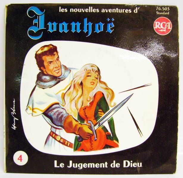 Ivanhoe - Mini-LP Record - #4 God\'s Judgment - CBS Records 1970