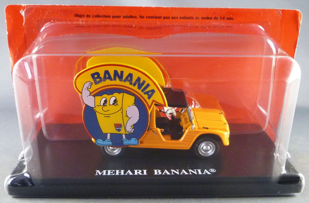 Ixo Hachette Citroën Mehari Banania 1979 Tour de France Advertising Caravan