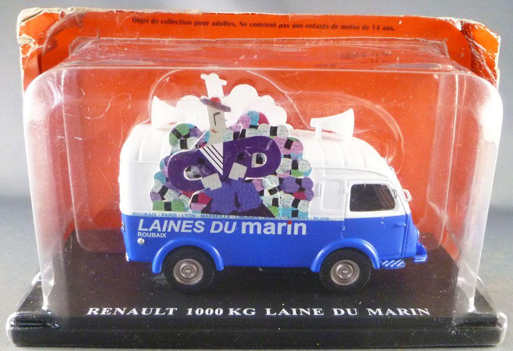 Ixo Hachette Renault 1000Kg Laine du Marin 1950 Tour de France Advertising Caravan