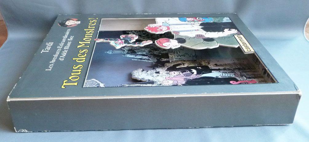 Jacques Tardi - Casterman 3D Store Advertising - Tous des Monstres