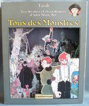 Jacques Tardi - Plv Carton 3D Casterman - Tous des Monstres