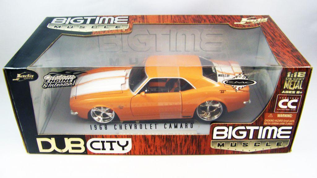 Jada Toys Dub City 1968 Chevrolet Camaro 1:18 scale (Diecast Metal)