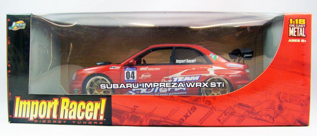 Jada Toys Import Racer Subaru Impreza WRX STi 1:18 scale (Diecast Metal)