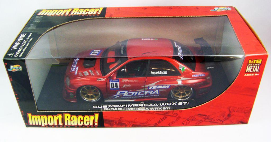 Jada Toys Import Racer Subaru Impreza WRX STi 1/18ème (Diecast Metal)