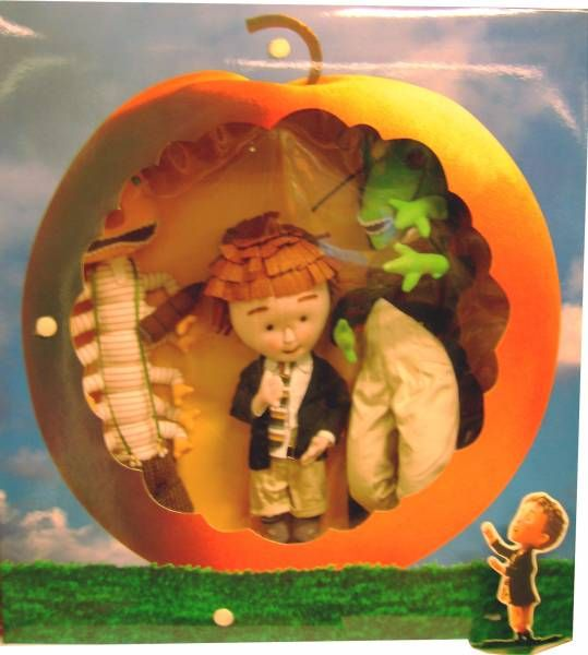 James & Giant Peach - James, Grasshopper & Centriped - 18\'\' Plush Collector