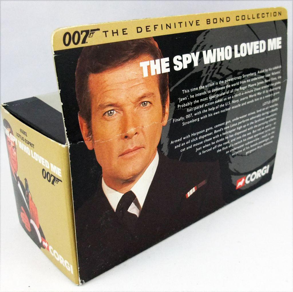 James Bond - Corgi - L\'Espion qui m\'aimait - Lotus Esprit 65002 (neuve en boite)