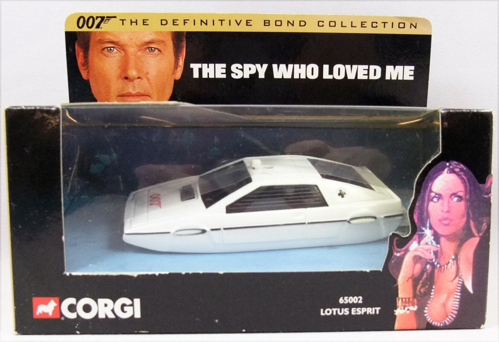 James Bond - Corgi - The spy who loved me - Lotus Esprit 65002 (Mint in box)