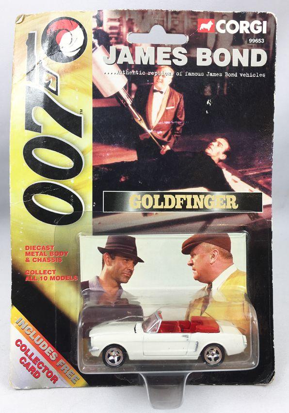 Ford Mustang James Corgiamerican 1964 Convertibleréf SeriesGoldfinger Bond 99653 E9ID2HYW
