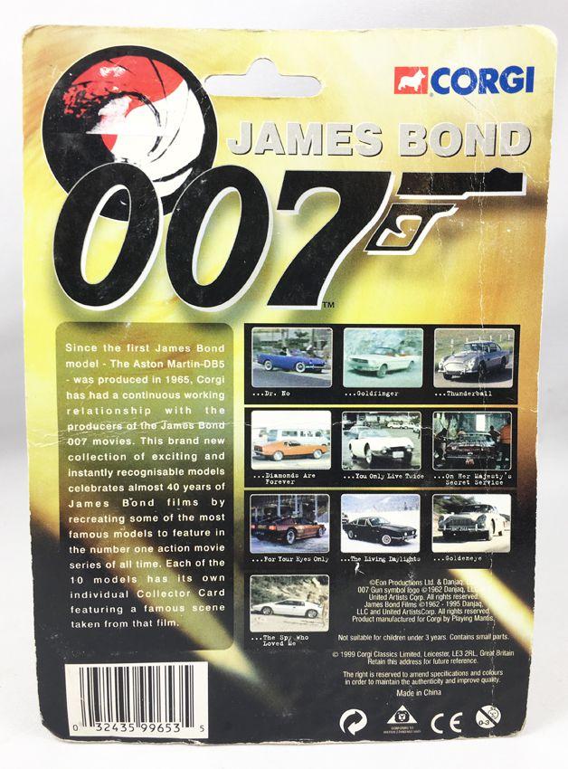 James Bond - Corgi (American Series) - Goldfinger - 1964 Ford Mustang convertible (Réf.99653)