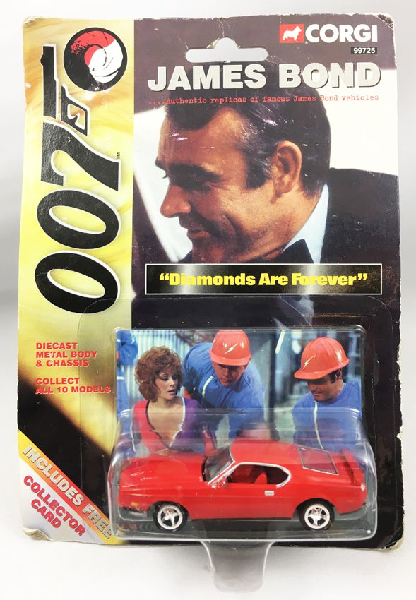 James Bond - Corgi (American Series) - Les diamants sont éternels - Ford Mustang Mach1 (Réf.99725)