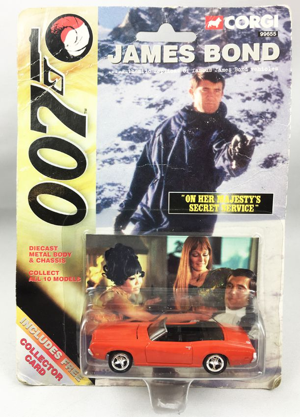 James Bond - Corgi (American Series) - On Her Majesty\'s Secret Service - Ford Mercury (Ref.99655)