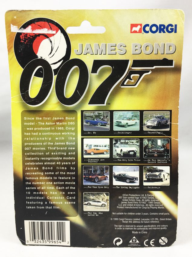 James Bond - Corgi (American Series) - On ne vit que deux fois - Toyota 2000 GT (Réf.99654)