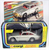 James Bond - Corgi Vintage - Goldfinger - Aston Martin DB5 (Réf.271) Neuve en Boite