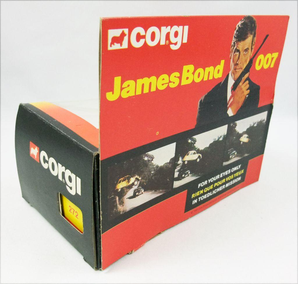 james bond - corgi vintage - rien que pour vos yeux