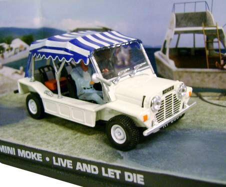 James Bond Ge Fabbri Live And Let Die Mini Moke Mint In Box