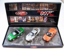 James Bond - Minichamps - Coffret Meurs un autre jour - Jaguar XKR Roadster, Aston Martin V12 Vanquish & Ford 03 Thunderbird