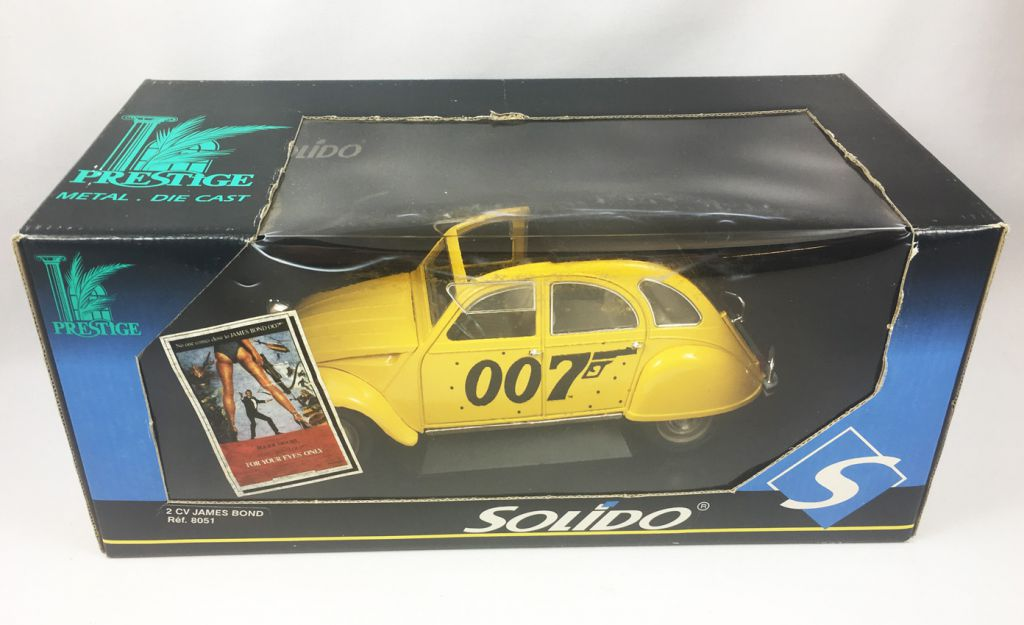 James Bond - Solido - Citroen 2cv (ref.8051) 1:18 scale (For Your Eyes Only)