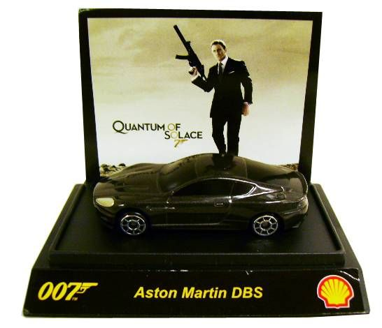 James Bond Tic Toc Shell Quantum Of Solace Aston Martin Dbs Scale 1 64