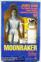 James Bond (Vintage) - Mego - Moonraker James Bond (neuf en boite)