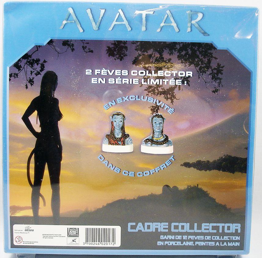 James Cameron\'s Avatar - Boxed gift-set of 12 porcelain bean-figures
