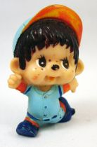 Japanese pvc figure Monchichi baseball runner