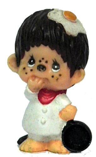 Japanese pvc figure Monchichi cooker