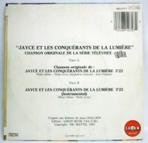 Jayce & les Conquérants de la Lumière - Disque 45T- Chanson Originale de la Série TV - Saban Records 1985