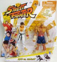 Jazwares - Ryu vs. Sagat