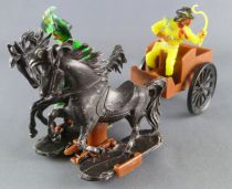 JEAN Jean Hoefler - Wild-West- Light Cart 2 Horses West Germany