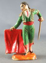 Jecsan - Corrida - Footed Torero with Cape right side & Sword
