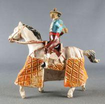 Jecsan - Corrida - Mounted Picador White Horse