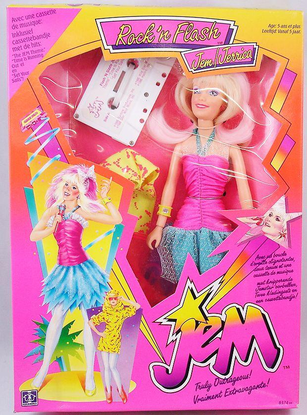 Jem - Flash\'n Sizzle Jem/Jerrica (mint in box)