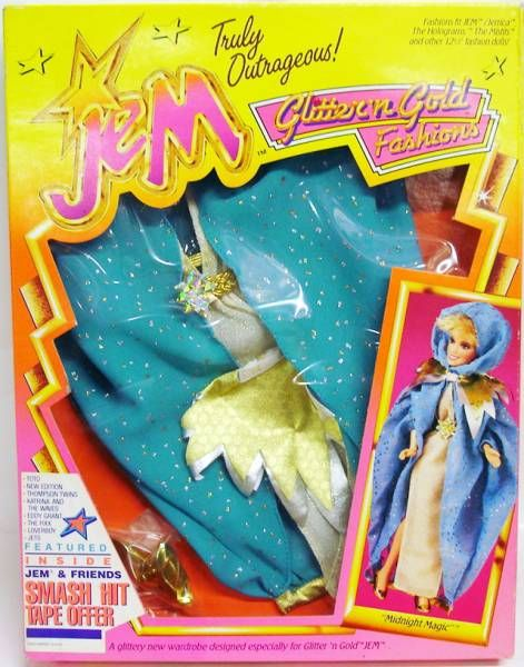 Jem - Glitter\'n Gold Fashions - Midnight Magic