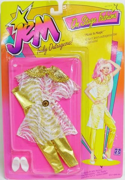 Jem - On Stage Fashions - Music Is Magic