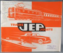 Jep 1961 Retailer Catalog - Cars Boats Planes Pistols Trains Ho & O scale
