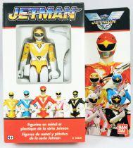 Jetman - Bandai France - Diecast Action Figure - Yellow Owl