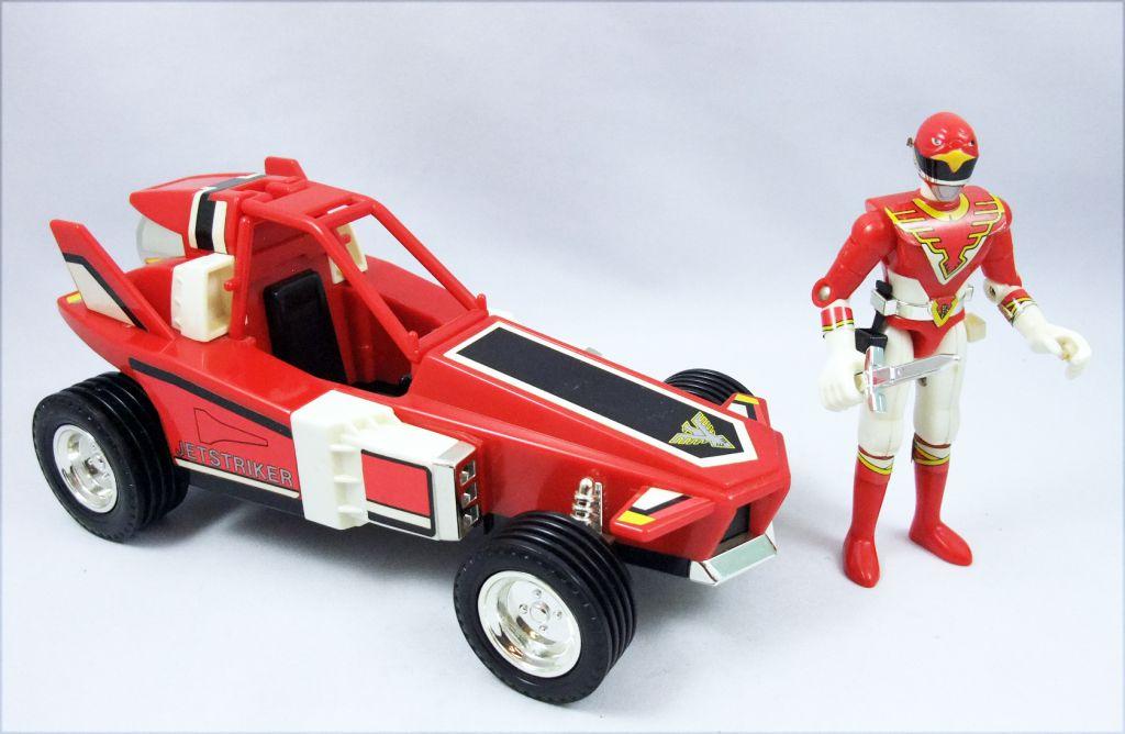 Jetman - Complete set of Vehicles & Action Figures Bandai (loose)