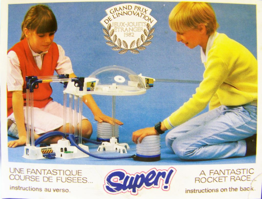 Jetspace Puls\'Air System - Revell Céji 1982 (occasion en boite) 05