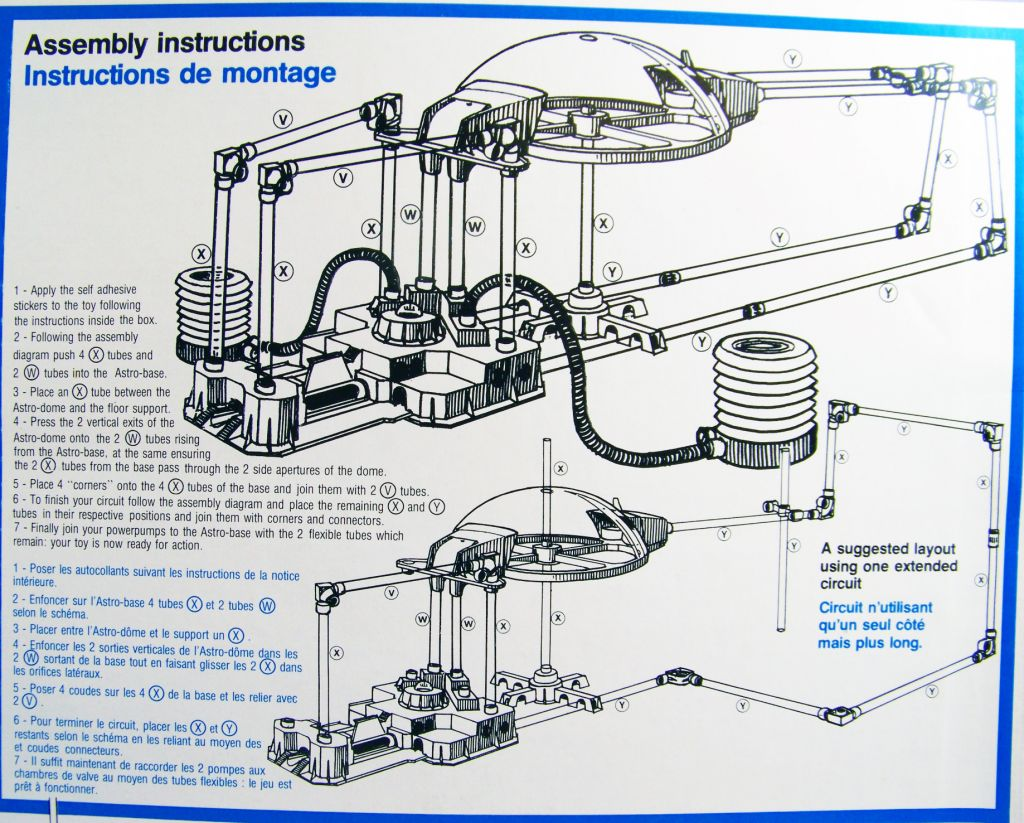 Jetspace Puls\'Air System - Revell Céji 1982 (occasion en boite) 07