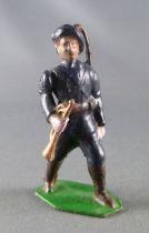 J.F. Le Jouet Fondu - Figurine Plomb Creux 54 mm - Chasseur Alpin Clairon