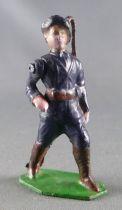 J.F. Le Jouet Fondu - Figurine Plomb Creux 54 mm - Chasseur Alpin Saluant 1