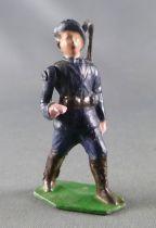 J.F. Le Jouet Fondu - Figurine Plomb Creux 54 mm - Chasseur Alpin Saluant 2