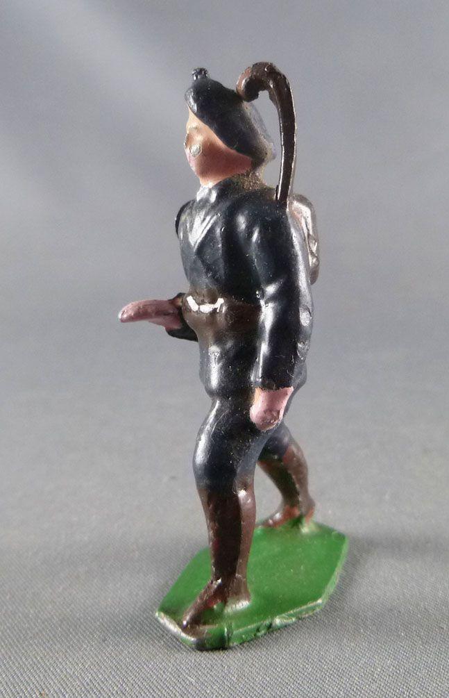 J.F. Le Jouet Fondu - Figurine Plomb Creux 54 mm - Chasseur Alpin Saluant 3