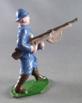 J.F. Le Jouet Fondu - Lead Soldiers 54 mm - French  Infantry Blue Dress MG 2