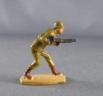 Jim - 28mm Démontable - Armées Modernes - Americain courbé avec mitrailleuse