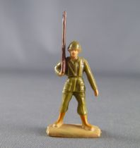 Jim - 28mm Swoppets - Modern Army - Us Force rifle on shoulder